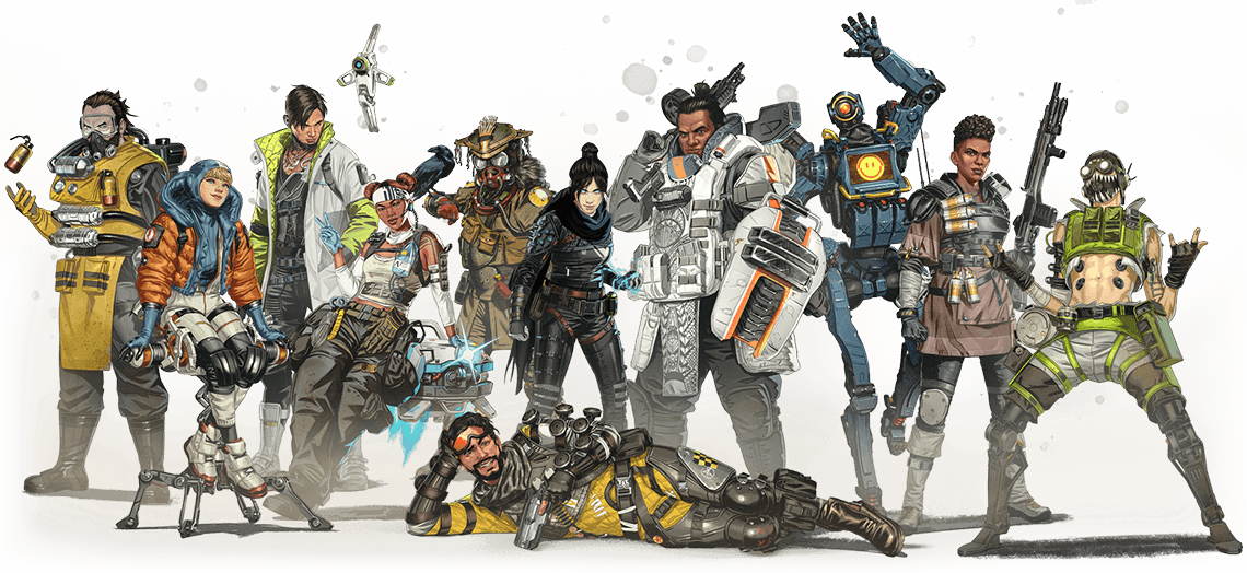 Apex legends character banner