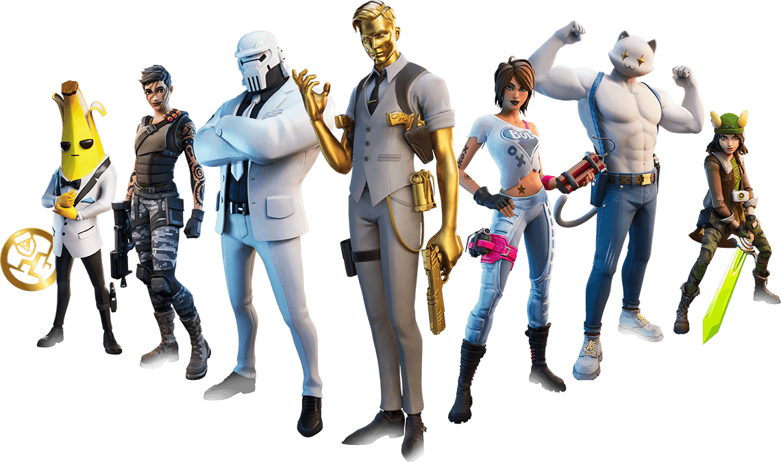 Fortnite Characters Banner