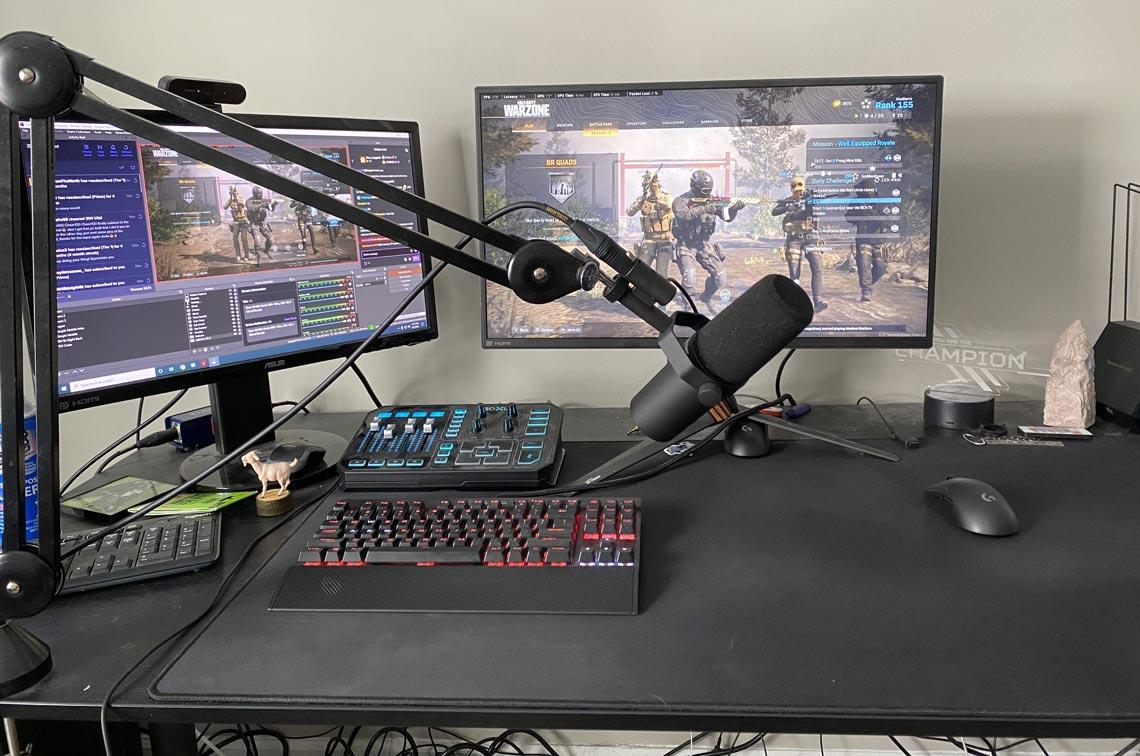 HusKerrs Gaming Room Setup
