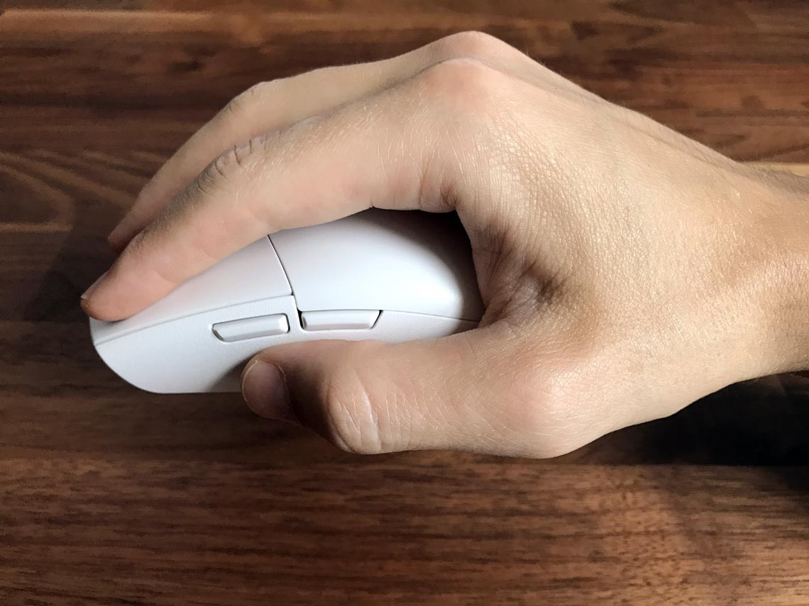 Mouse grip hold
