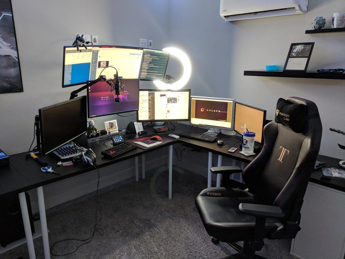 DrLupo Gaming Room Setup