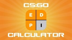 CS:GO eDPI Calculator