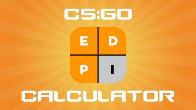 CS:GO eDPI Calculator