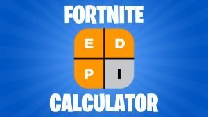 Fortnite eDPI Calculator