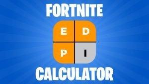 Fortnite eDPI Calculator