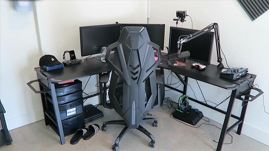 Crowder Gaming Room Setup