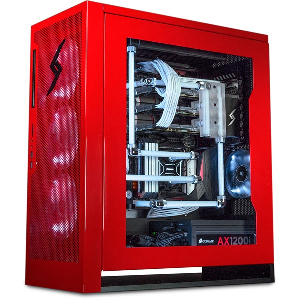 Digital Storm Velox Red Gaming Case