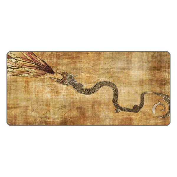 Inked Gaming Custom Extended XL Dragon Lore Mouse Pad