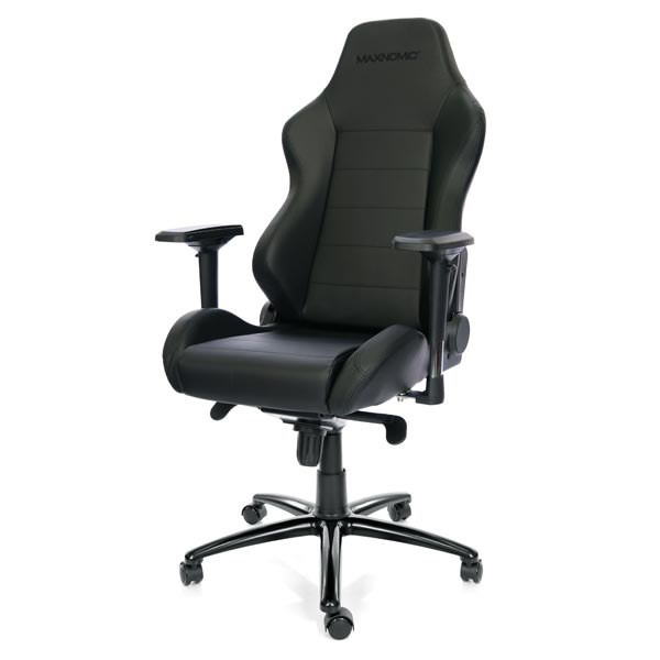 Maxnomic Pro-Chief Black Gaming Chair