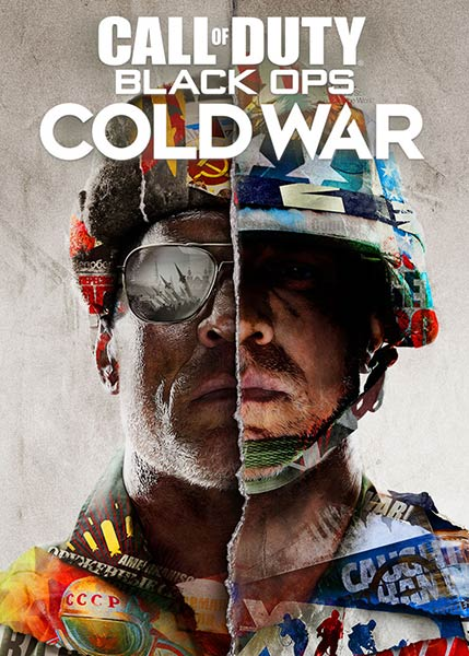 Call of Duty Black Ops Cold WarGame Album Cover