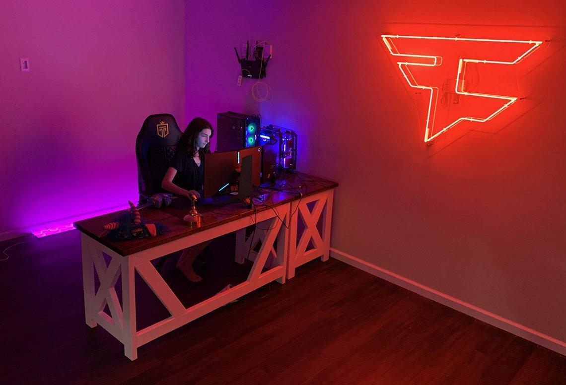 Ewok Gaming Room Setup