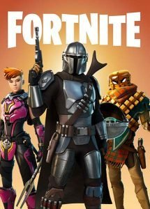 Fortnite Game Album Cover