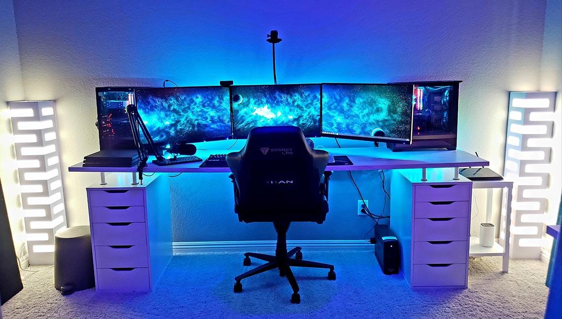 IceManIsaac Gaming Room Setup