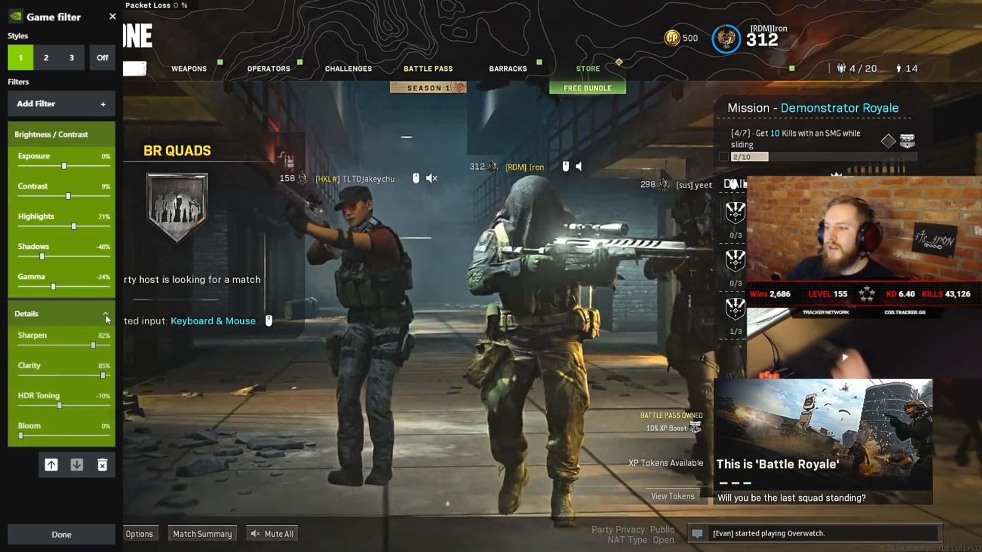 Its_Iron Nvidia Overlay Settings