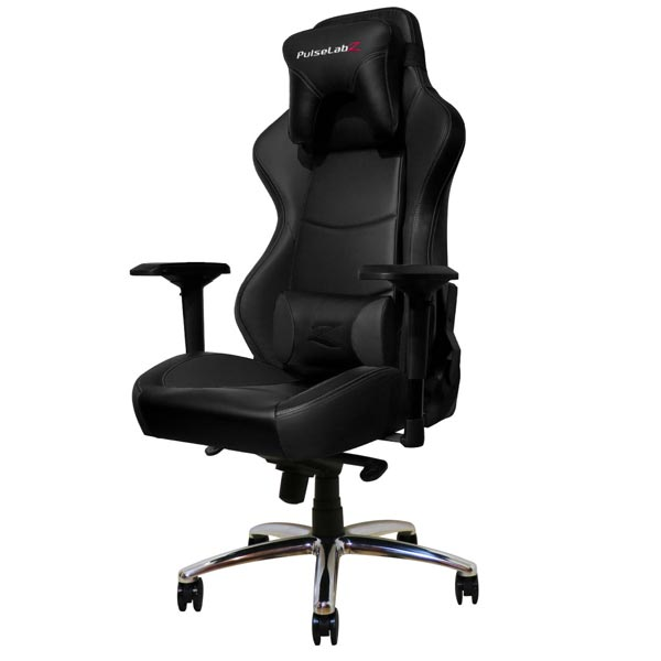 Pulselabz Guardian Series Black Gaming Chair