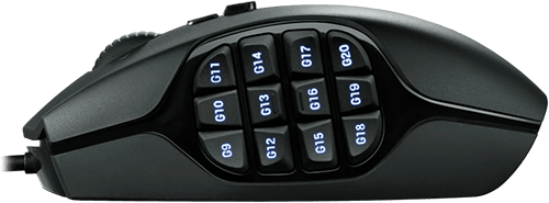 Logitech G600 Gaming Mouse 12 Side Buttons