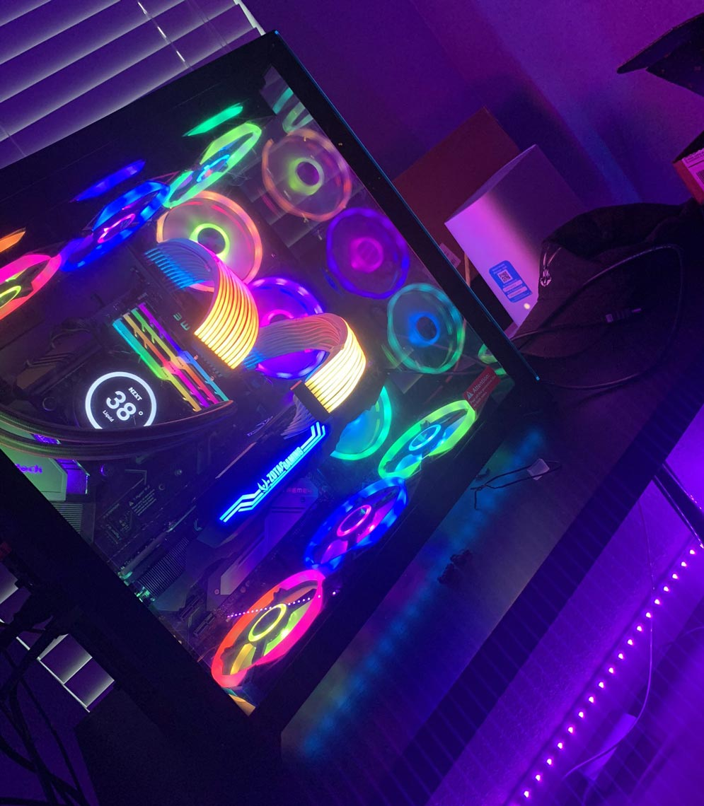 SuperEvan Gaming Room Setup