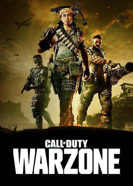 Call of Duty Warzone Game Album Cover