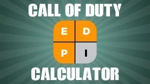 Call of Duty eDPI Calculator