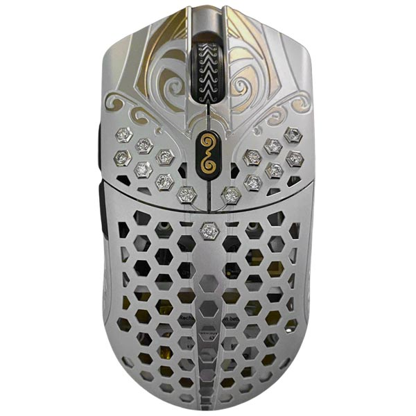 Finalmouse Legendary Diamond Edition Silver Gaming Mouse