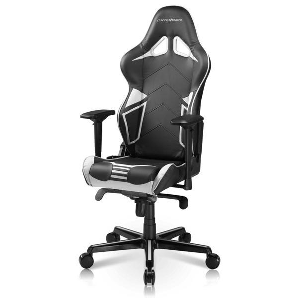 DXRacer Racing RV131 Black/White Gaming Chair
