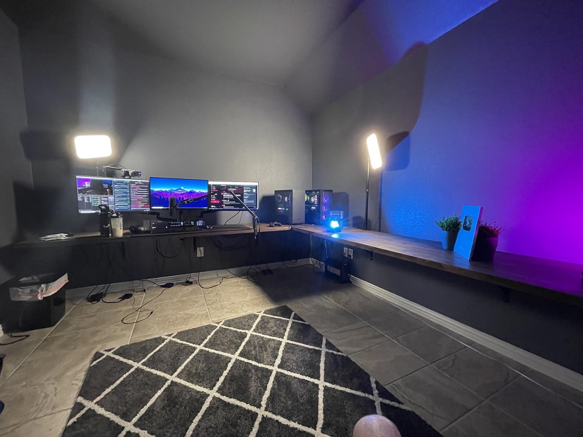 Expel Gaming Room Setup