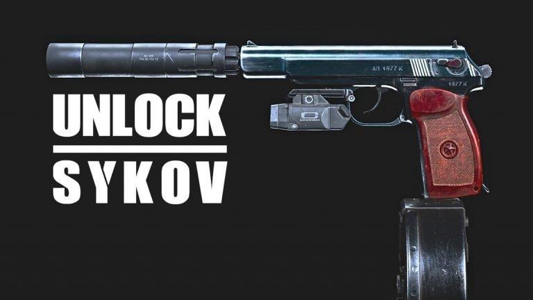 Unlock Sykov Pistol