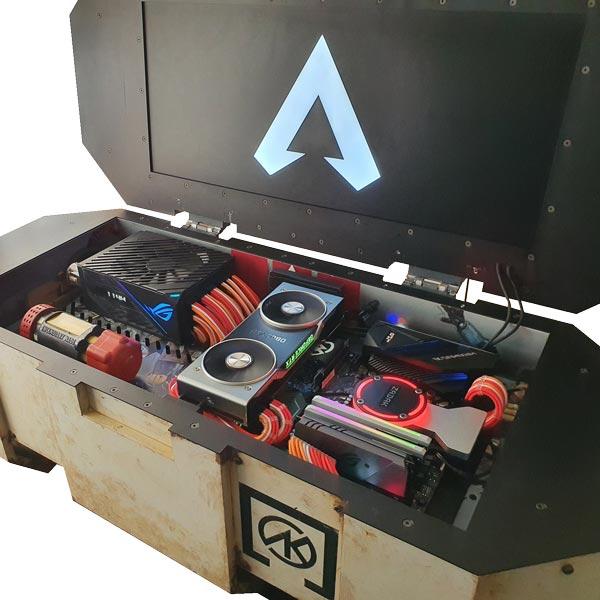 Death Box Z Custom Gaming Case