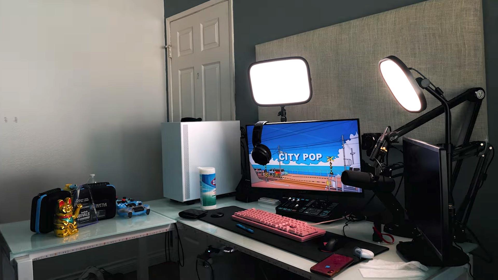 Lucky Chamu Gaming Room Setup