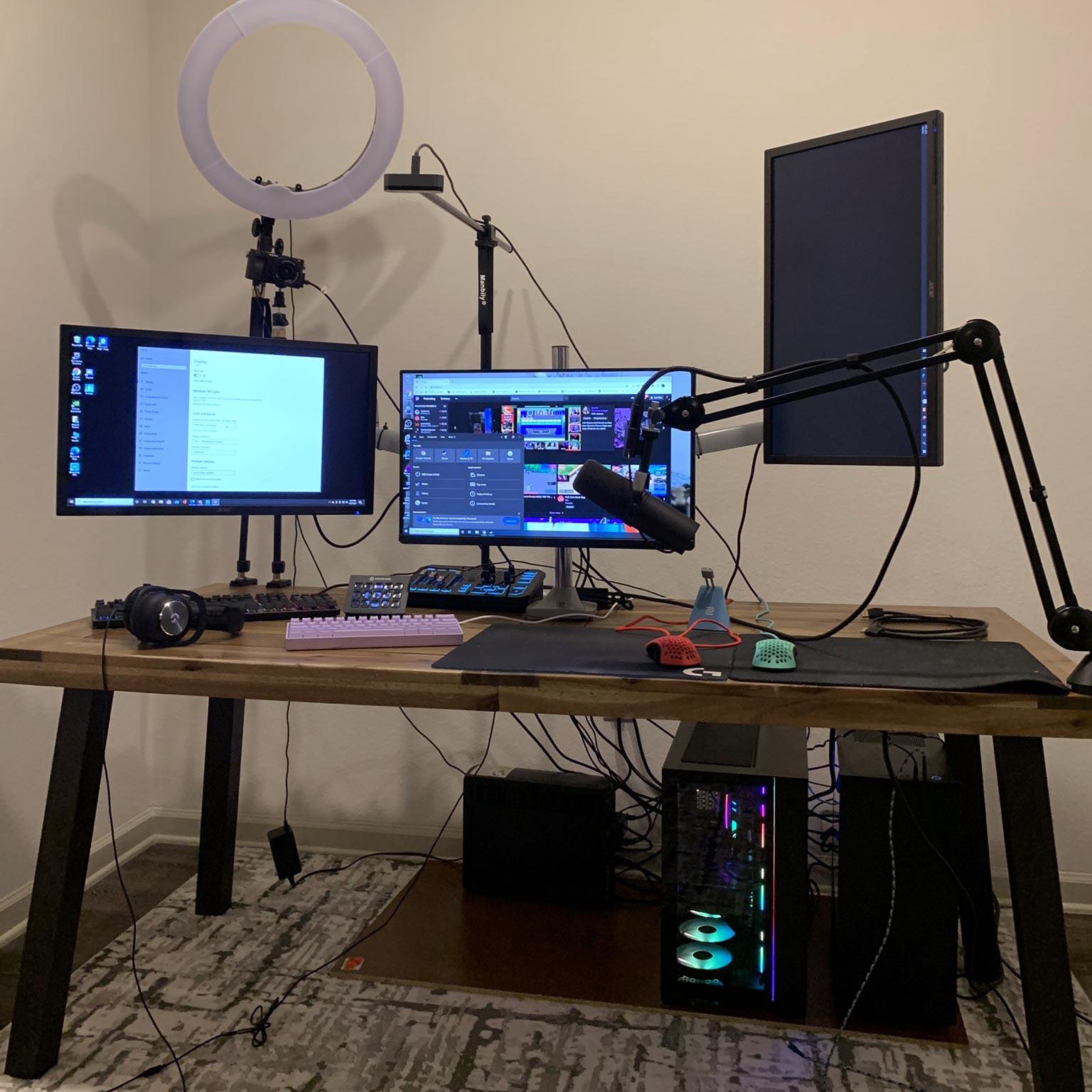 Reverse2k Gaming Room Setup