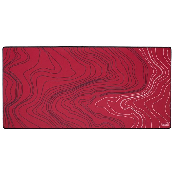 The Mousepad Company Strata_03 Red