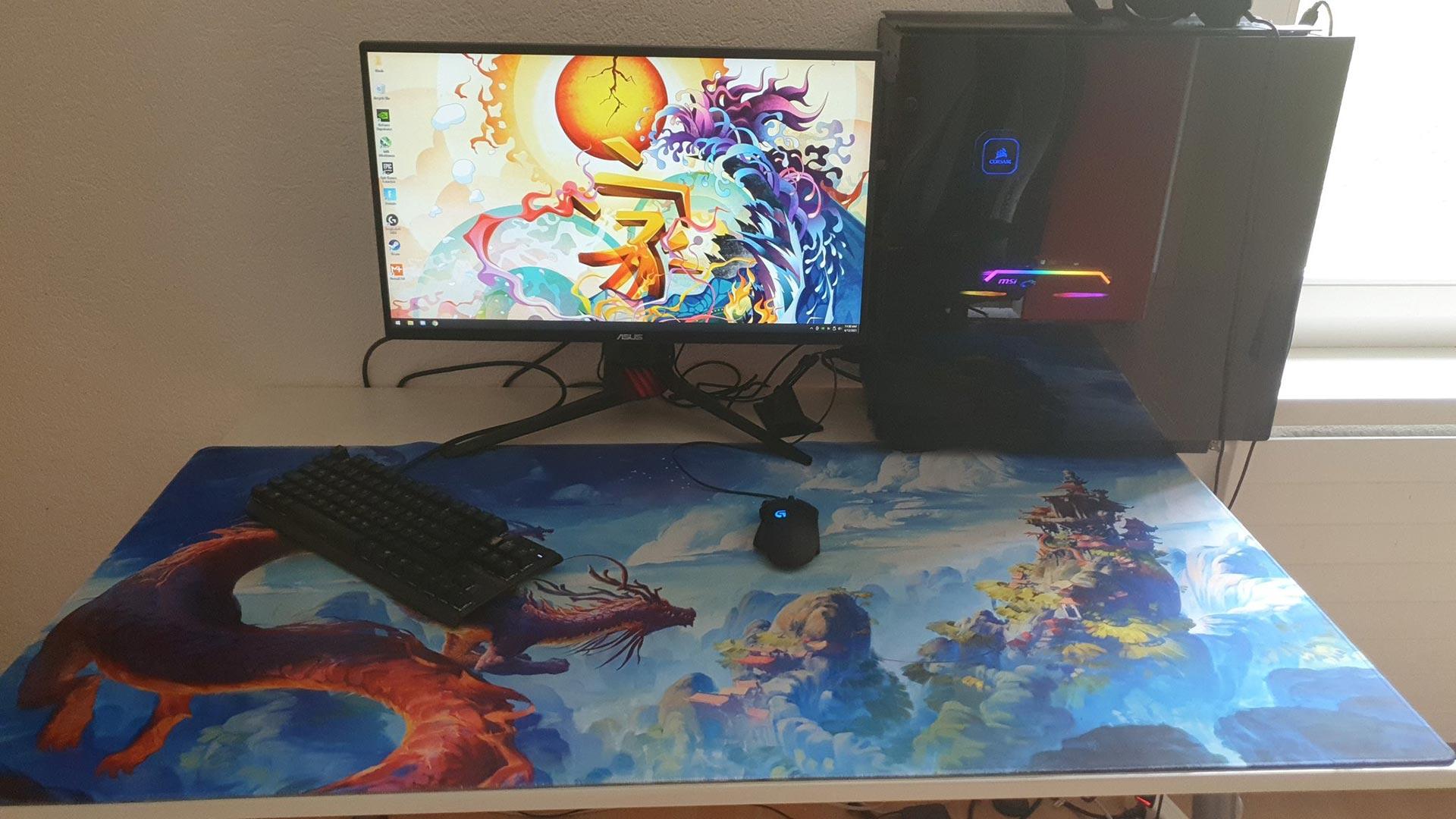 Noahreyli Gaming Room Setup