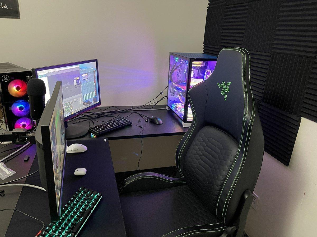 Euriece Gaming Room Setup