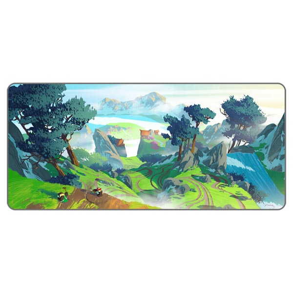 Inked Gaming Extended XXL Kung Fu Panda Mouse Pad