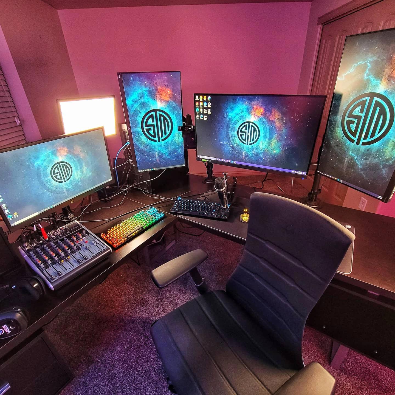 Viss Gaming Room Setup