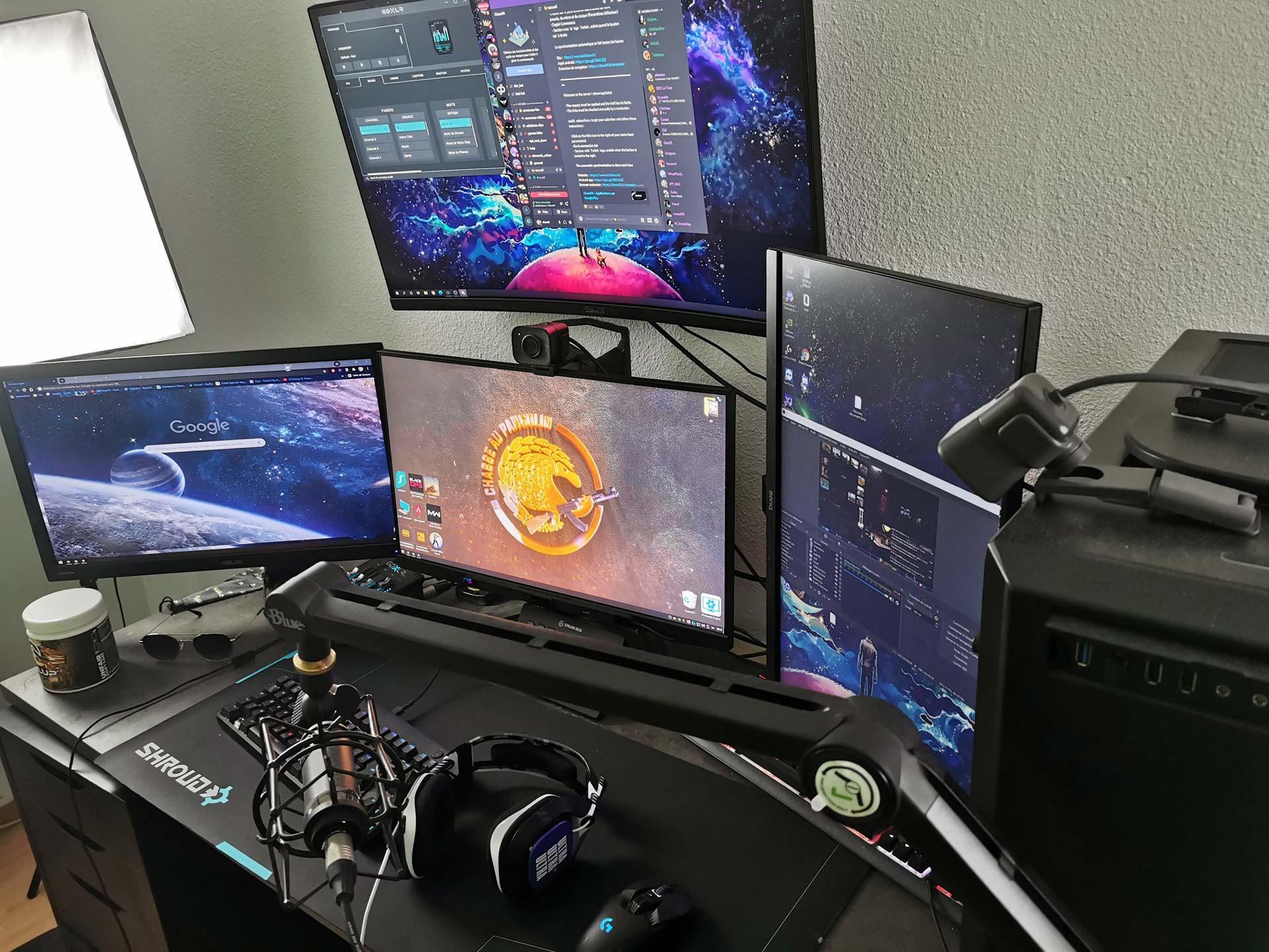 chowh1 Gaming Room Setup